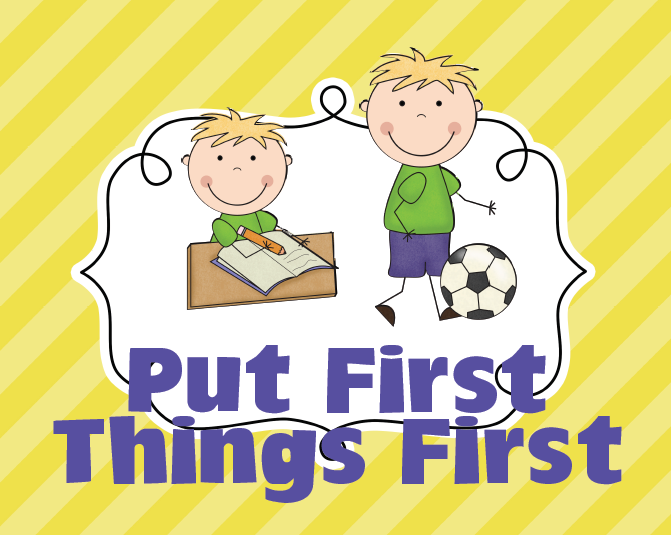 seven habits putting first thing first Habit 3: put first things first synopsis it is important to know how to prioritize daily and weekly activities it is essential that you distinguish between important activities and.